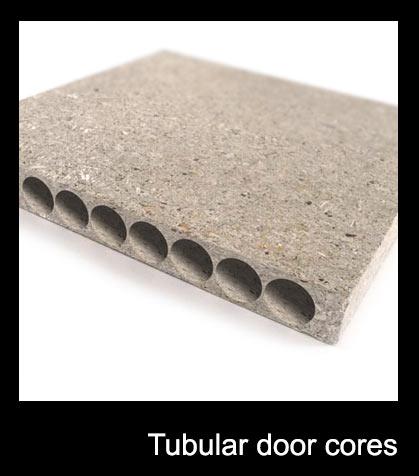 Tubular door cores